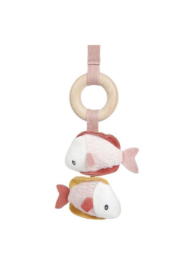 Houten Babygym - Ocean Pink