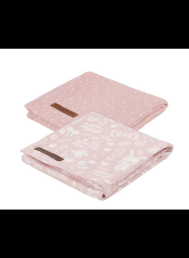 Swaddle doeken 70 x 70 - Adventure Pink