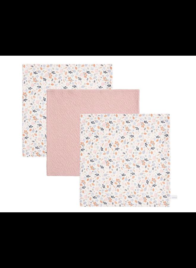 Monddoekjes - Pure Pink / Spring Flowers