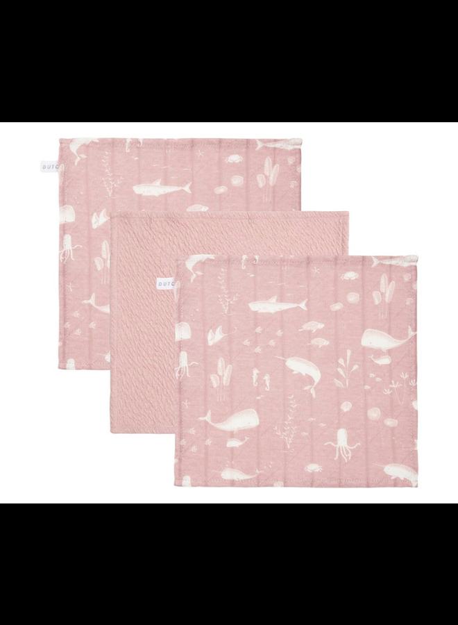 Monddoekjes - Ocean Pink / Pure Pink