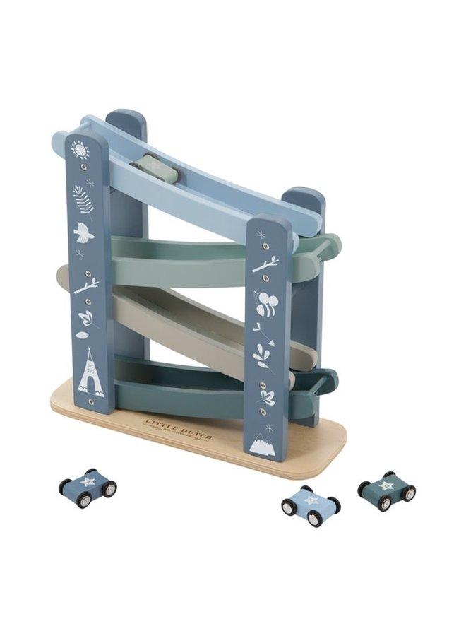 Autobaan hout - Adventure Blue