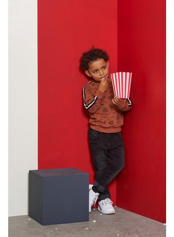 Sweater AOP - Popcorn Power - Bruin