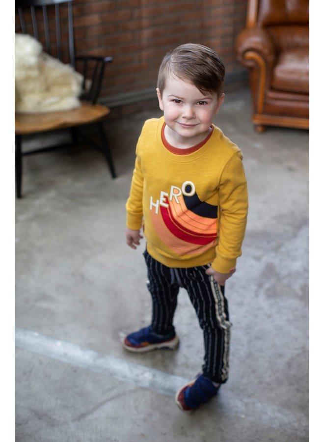 Sweater Hero - Dino-mite - Geel