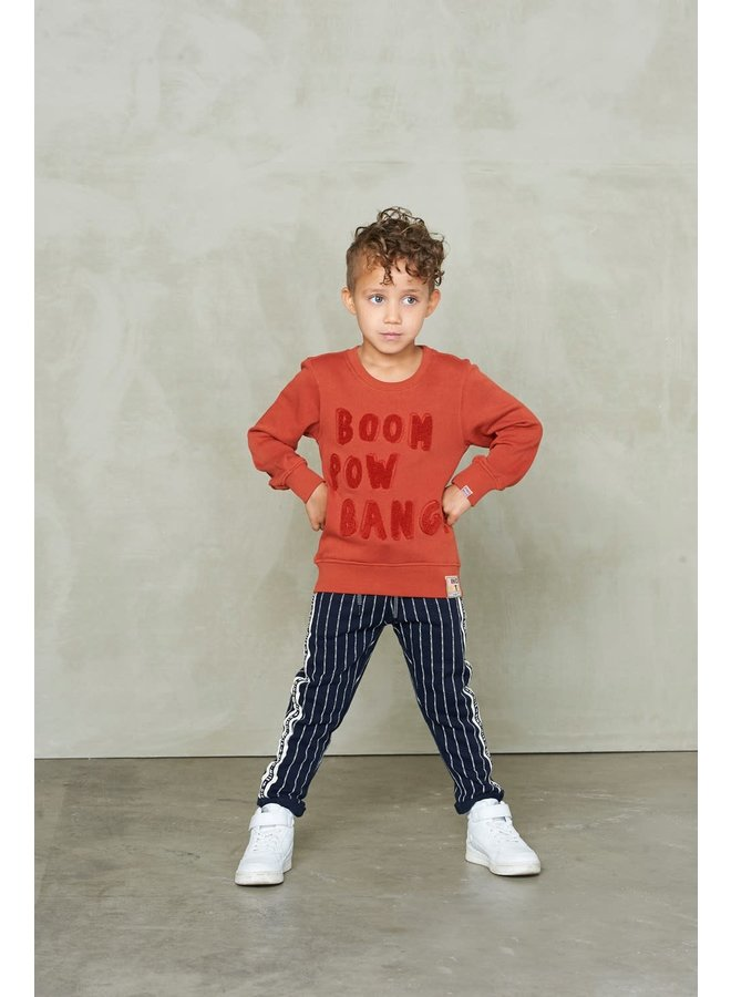 Sweater Boom - Dino-mite - Roest