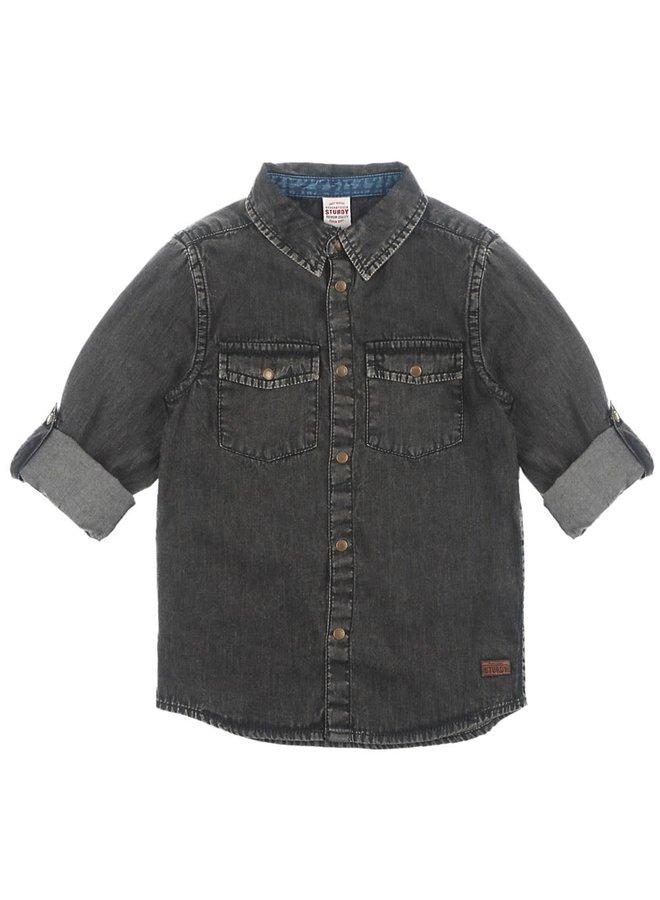 Overhemd - Winter Denims - Black Denim