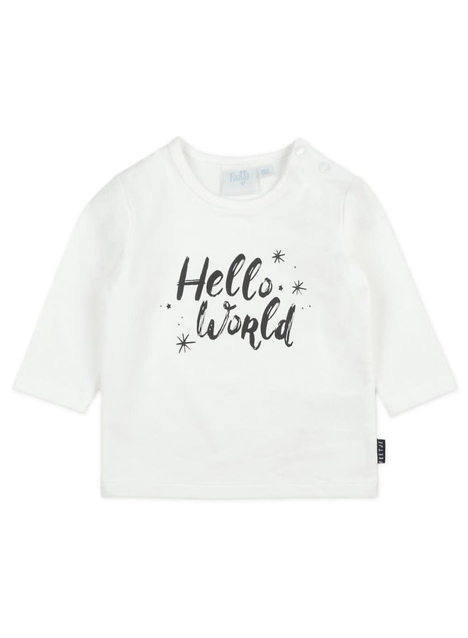 Longsleeve - Hello World - Offwhite