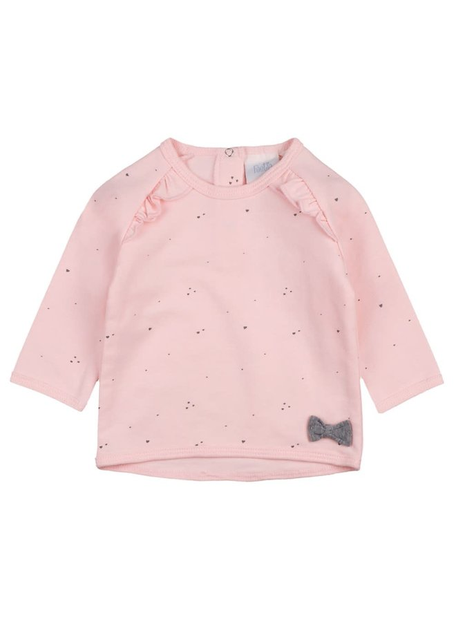 Sweater AOP - Rainbow - Roze