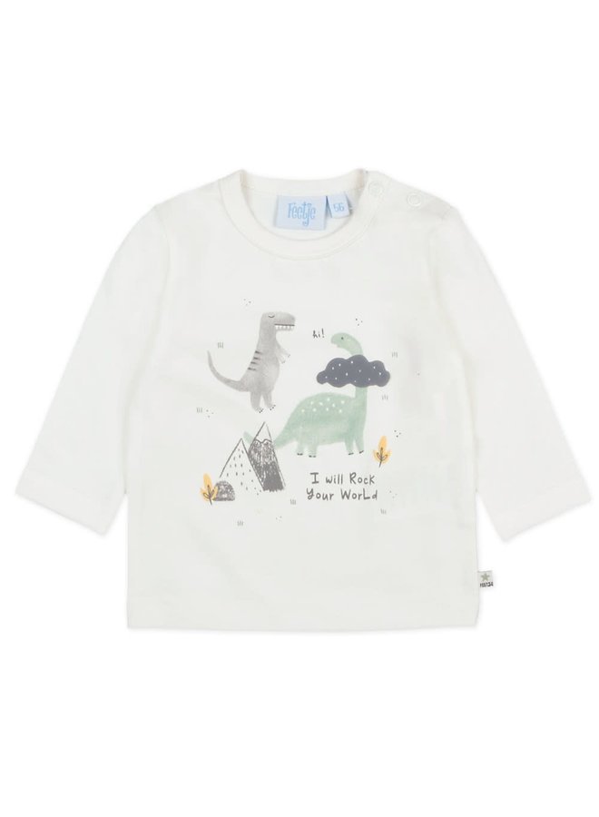 Longsleeve I Will - Dino - Offwhite
