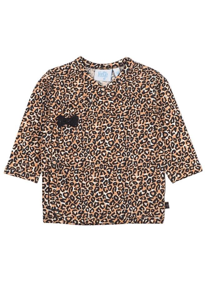 Overslagshirt - Better Together - Camel