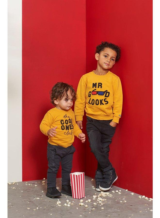Sweater Cool Ones - Popcorn Party - Geel