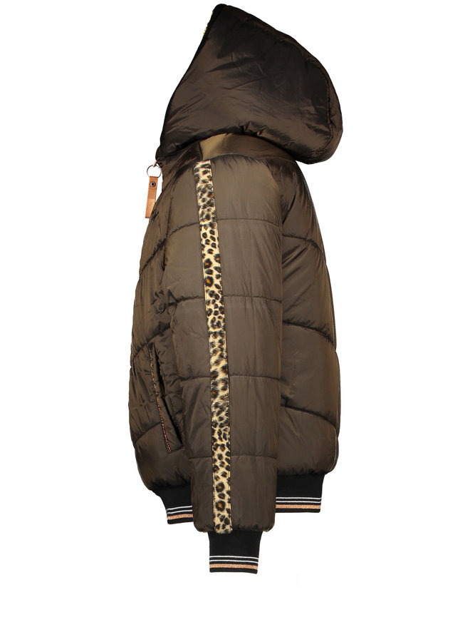 Bea Reversible Bomber - with hood