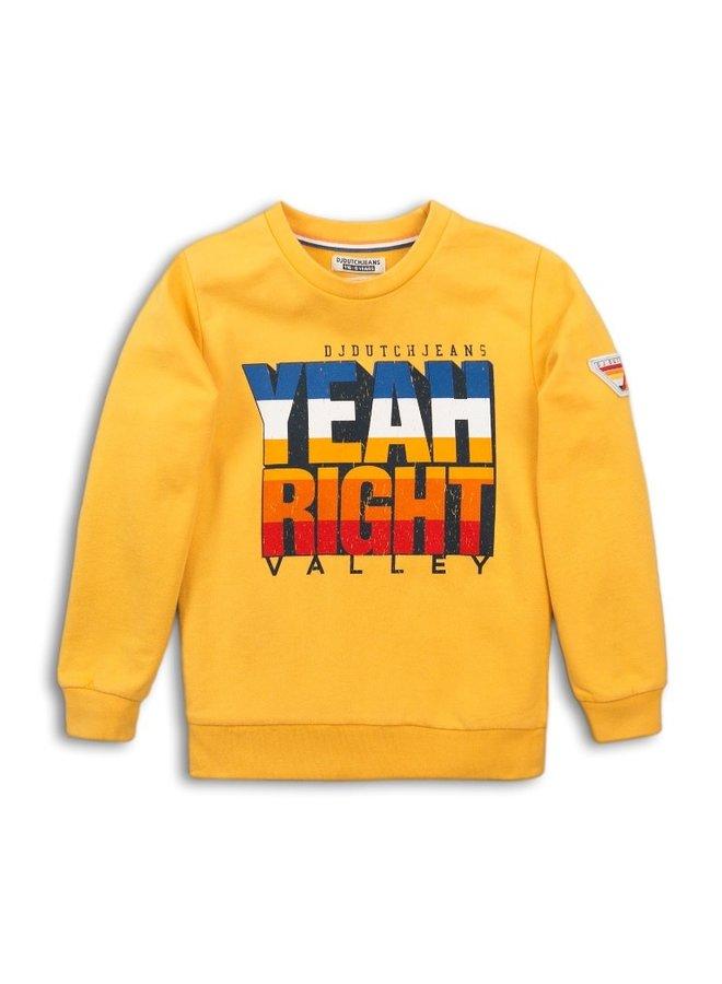 Sweater - Ochre Yellow