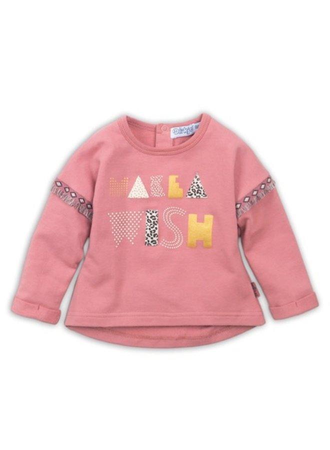 Baby Pullover - Dark Old Pink