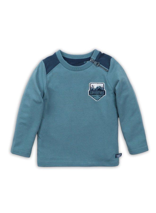 T-shirt Ls - Teal Green