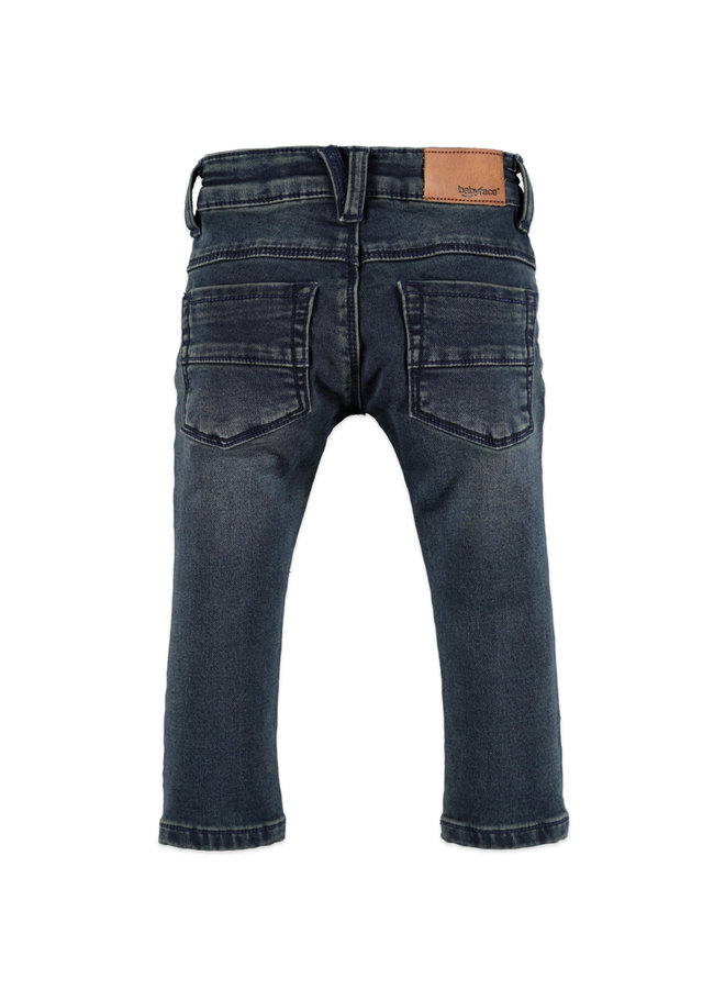 Boys Jogg Jeans - Dark Blue Denim