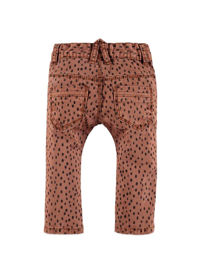 Girls Pants - Caramel