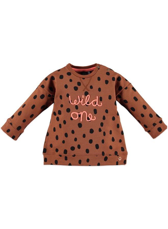 Girls Sweatshirt - Caramel