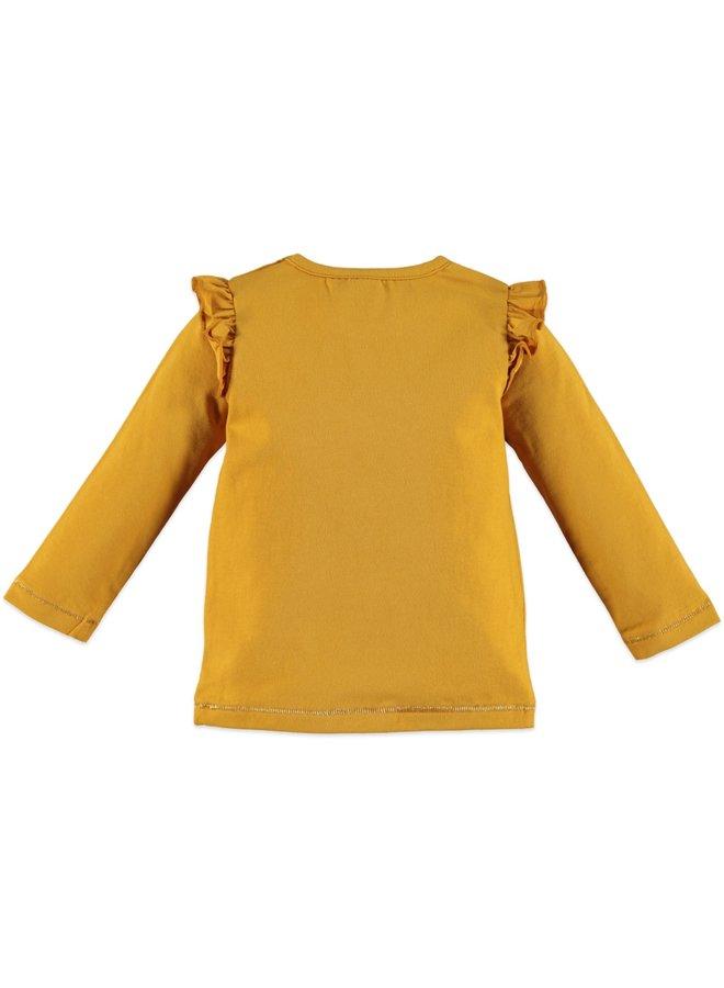 Girls T-shirt Longsleeve - Ocher