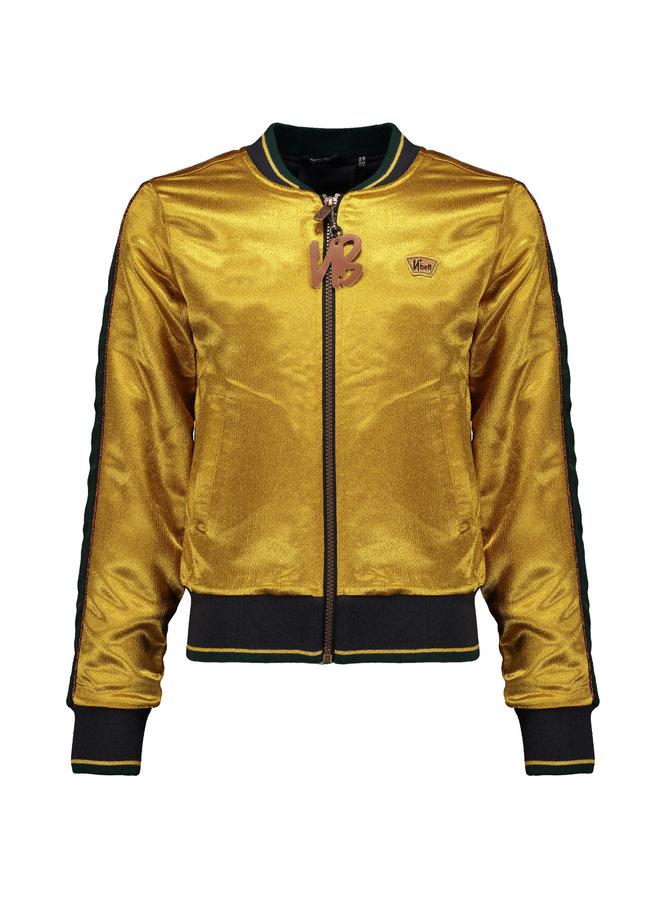 Donna - Indoorjacket Solid Gold Satin