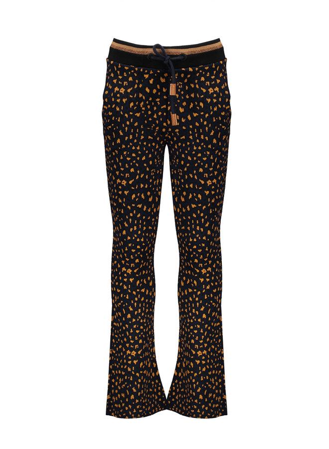 Sahara flared pants AOP