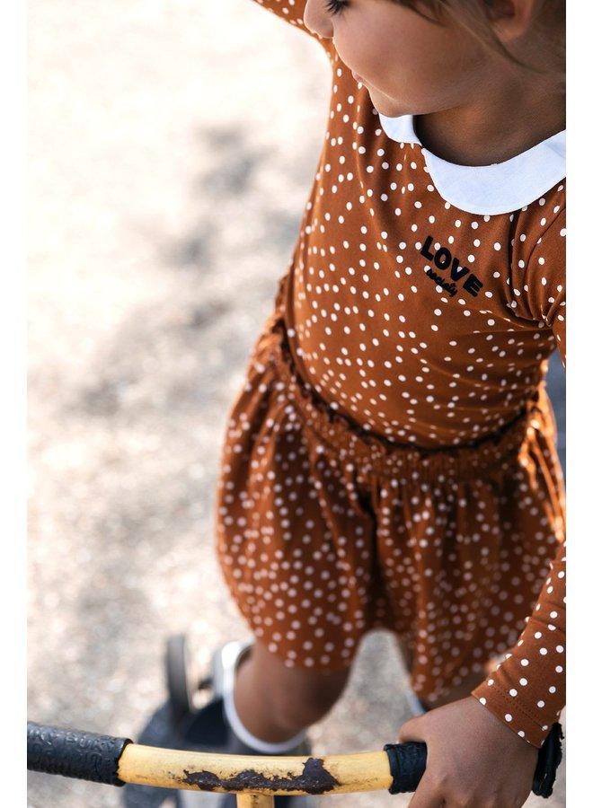 Dress - Caramel