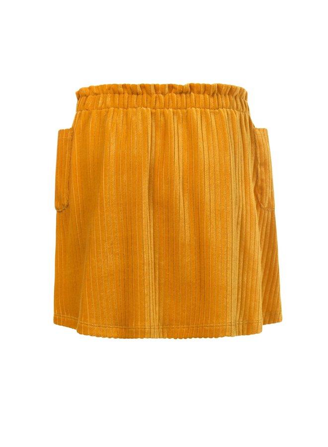 Velvet Skirt - Honey