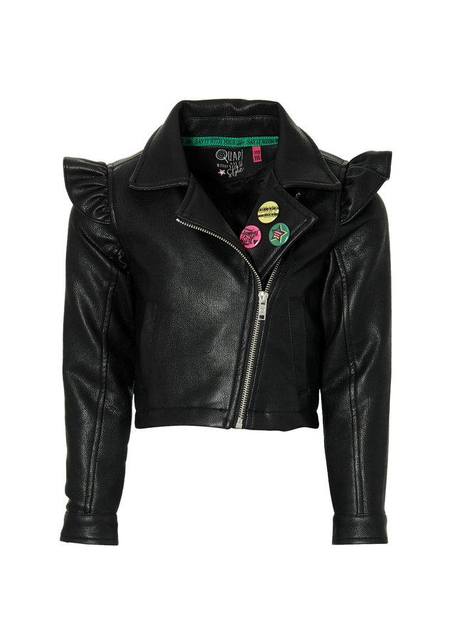 Debora - Jacket - Black