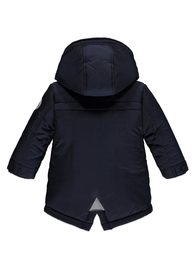Boys Winter Parka - Dark Blue
