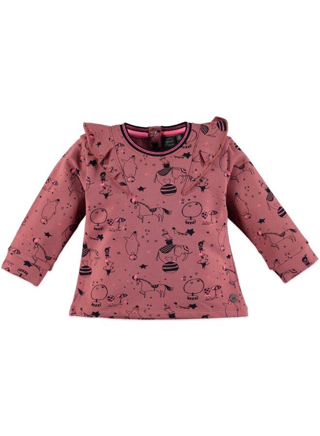 Girls Sweatshirt - Dusty Rose