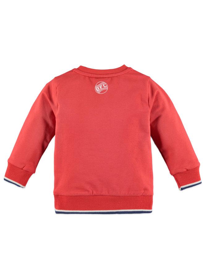 Boys Sweatshirt - Fresh Red