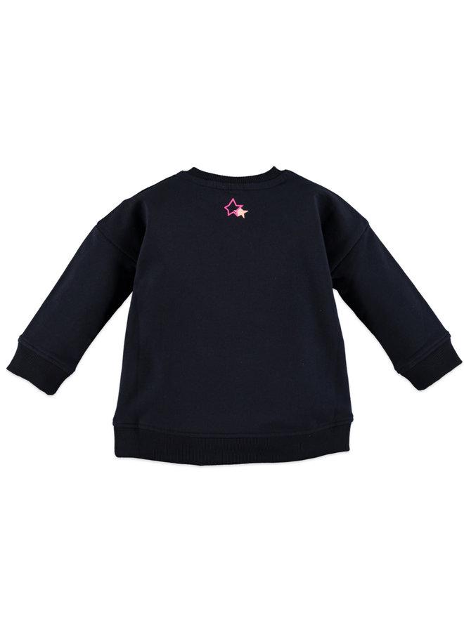 Girls Sweatshirt - Blue Night