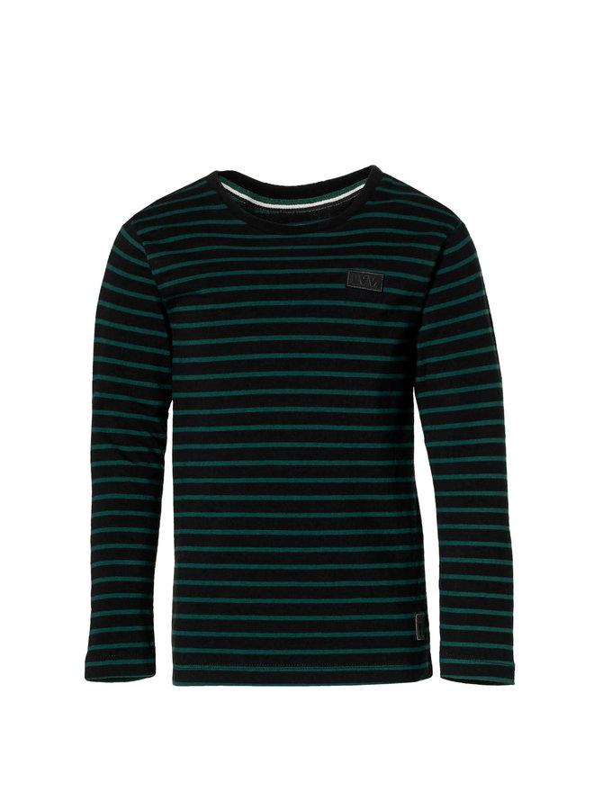 Lenn - Longsleeve - Black Stripe