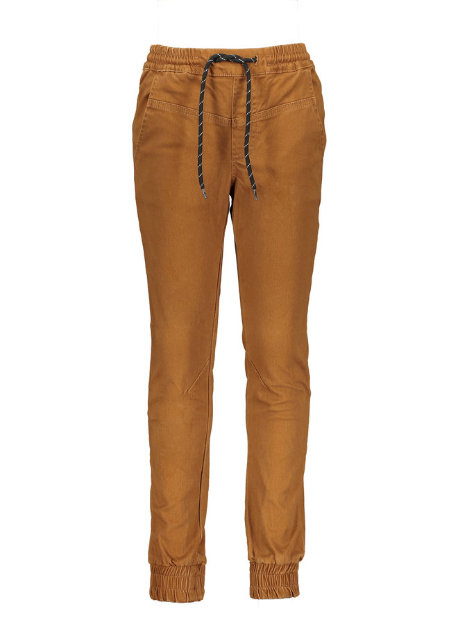 Pepper - Pants with cuffs -  Horse Brown