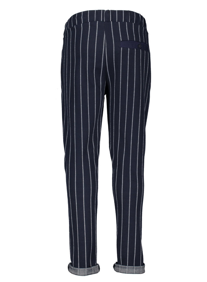 Philly - Sweatpants with relief outlook - Navy Blazer