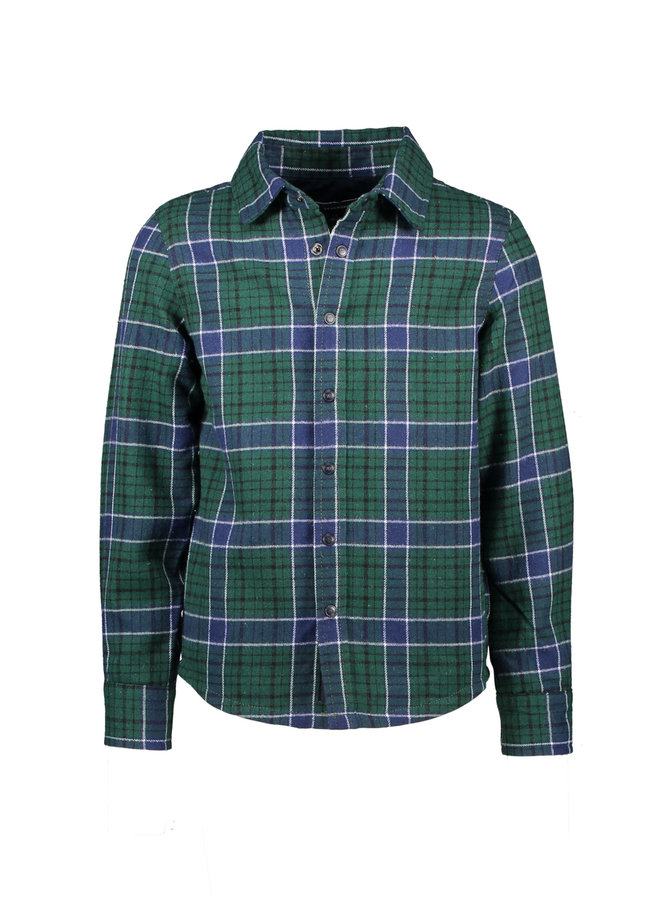 Henky - Longsleeve Padded Shirt - Navy Blazer