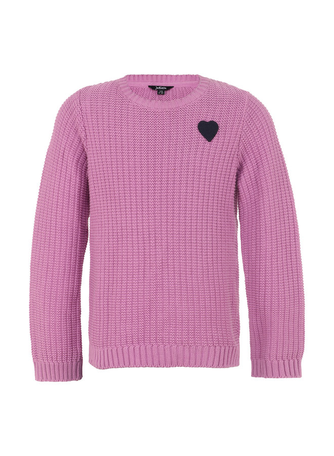 Sweater Knitted - Lila