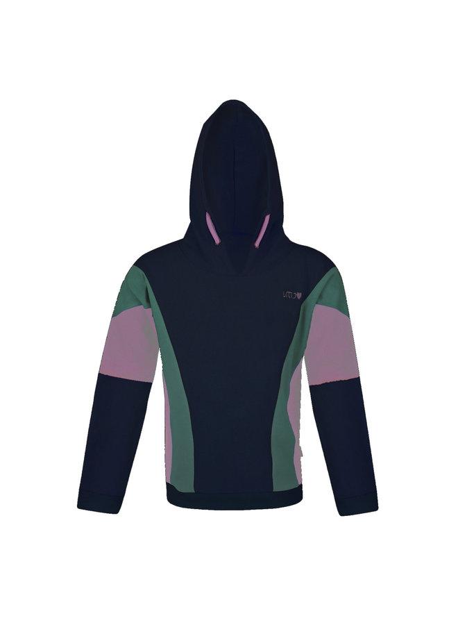 Sweater Hoody - Navy