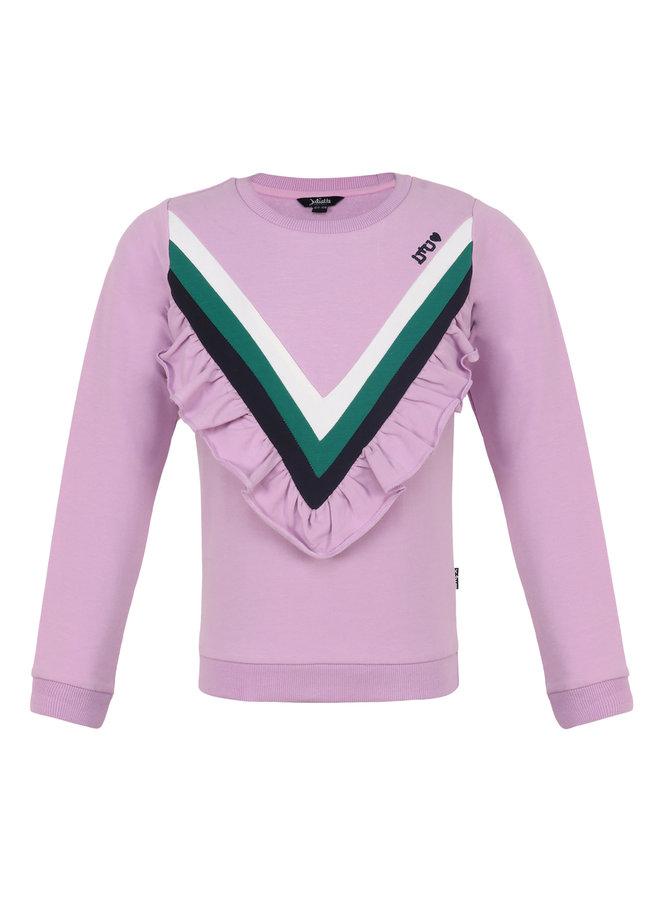 Sweater Ruffle - Lila
