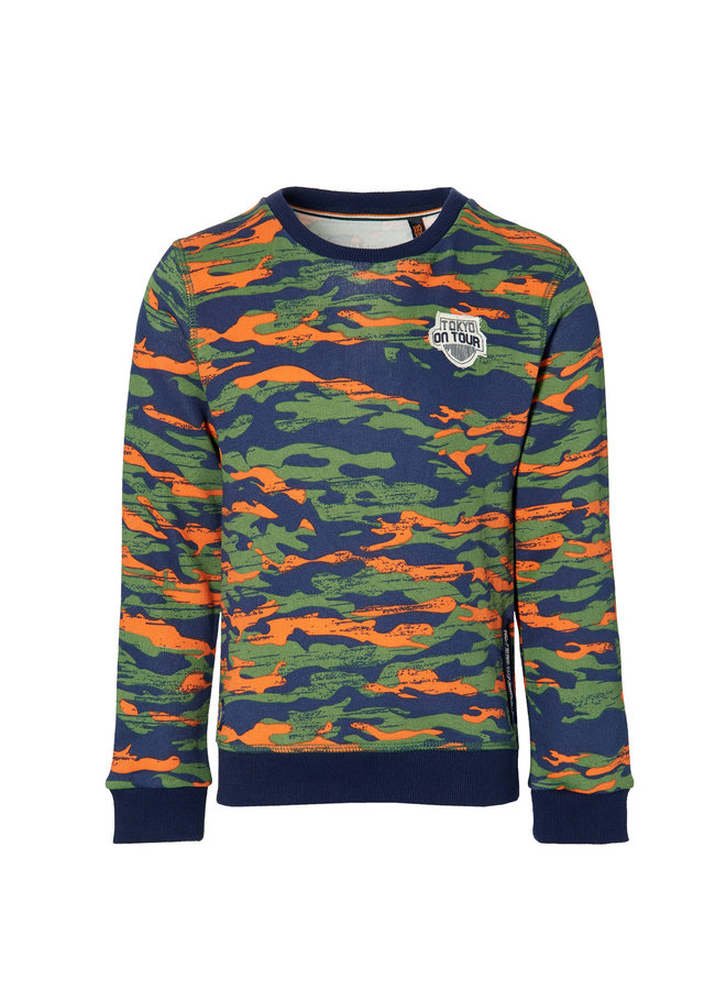 Derk - Sweater - Dark Green Army