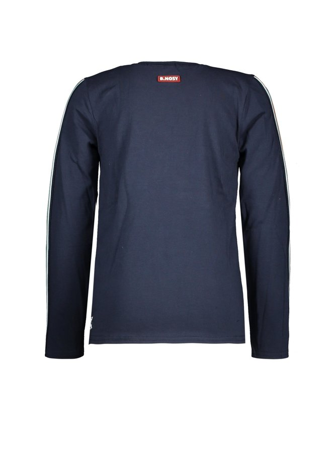 Boys - T-shirt With Special Chest Artwork - Oxford Blue