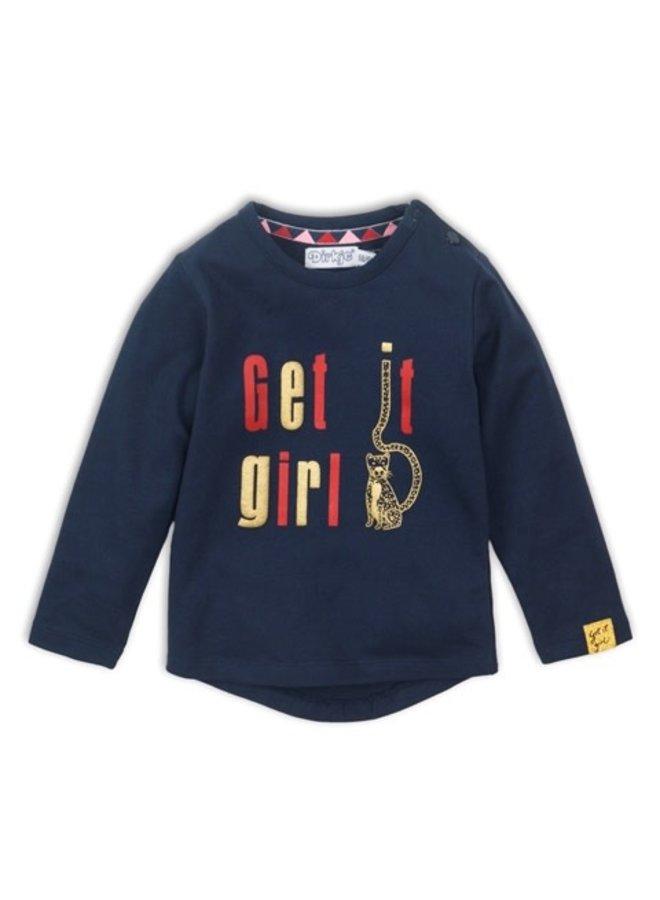 Baby T-shirt ls - Navy