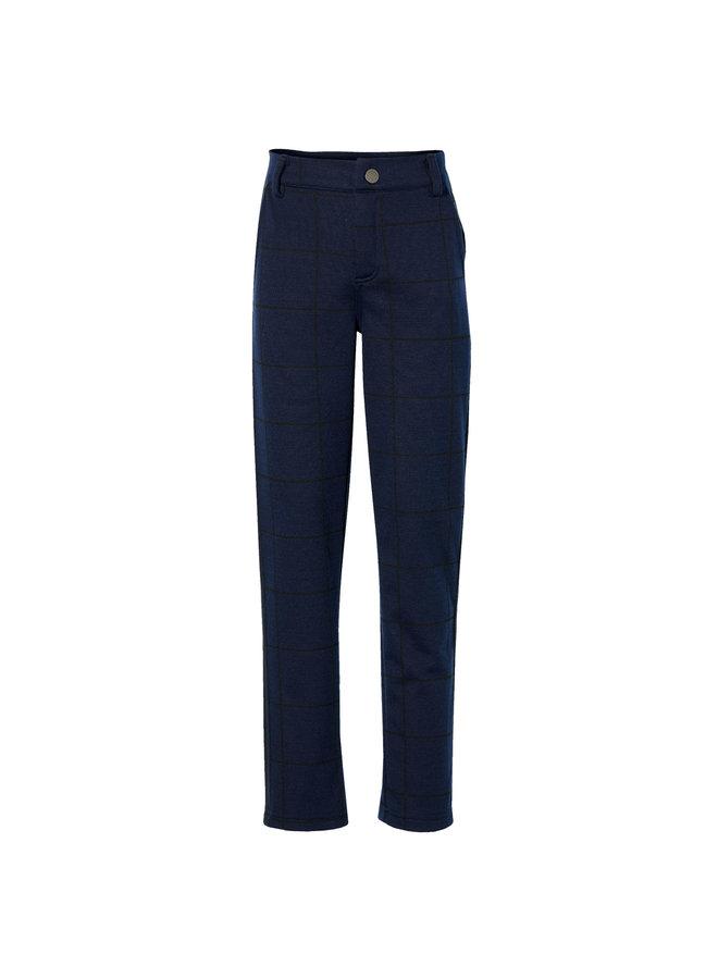 Krijn - Pants - Dark Blue Check