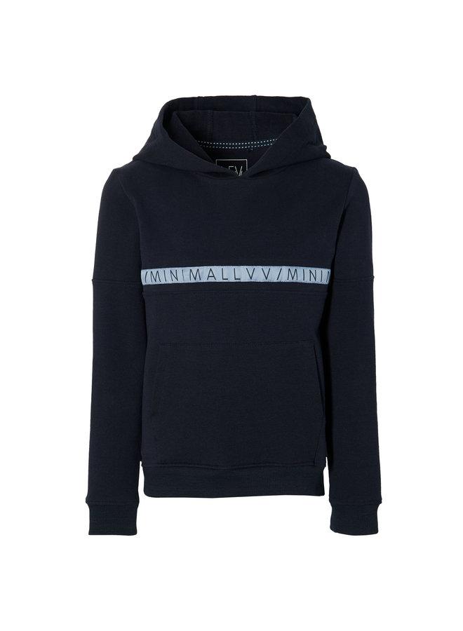 Klaas - Sweater Hooded - Dark Blue