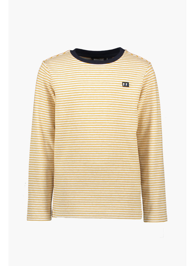 Timmy Ribstripe Sweater - Golden Spice