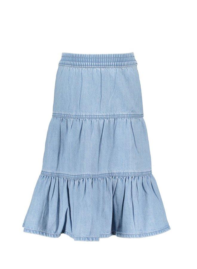 Girls Denim Skirt 3 Part - Free Denim