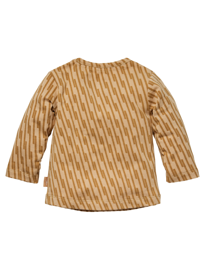 Lance - Longsleeve - Sand Stripe