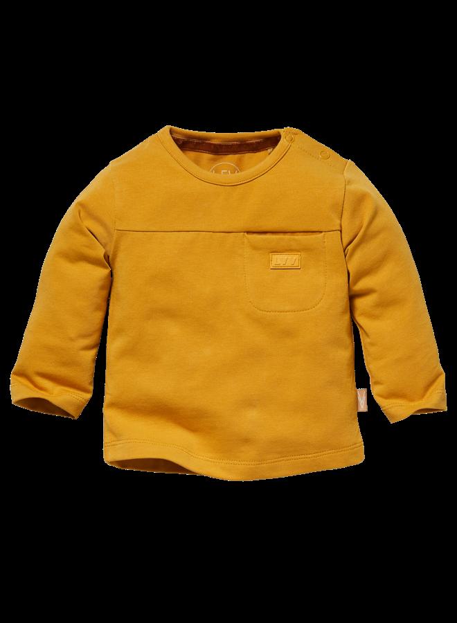Lars - Longsleeve - Mustard