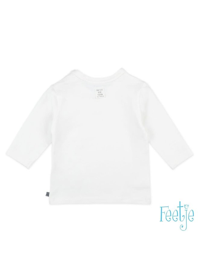 Longsleeve To The Moon - Mini Person - Wit