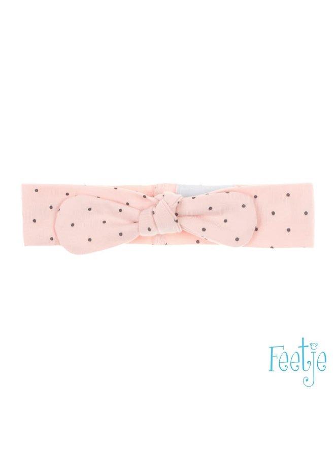 Haarband - Dots - Roze