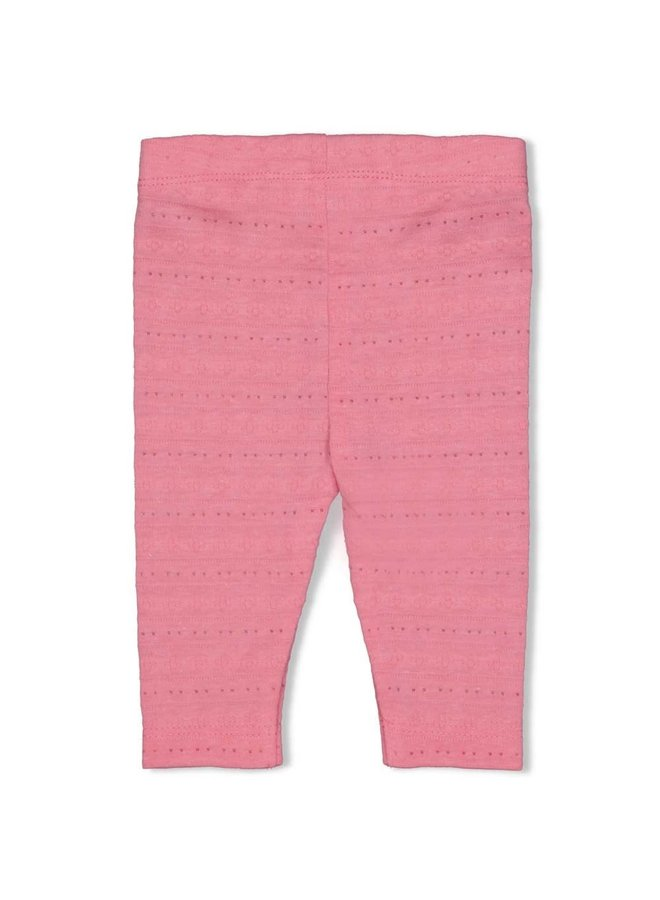Legging AOP - Seaside Kisses - Roze